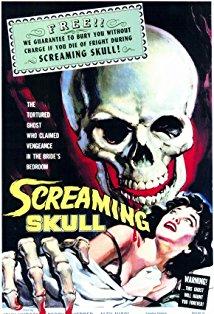 The Screaming Skull kapak