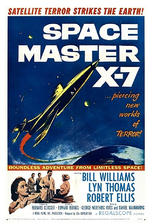 Space Master X-7 kapak