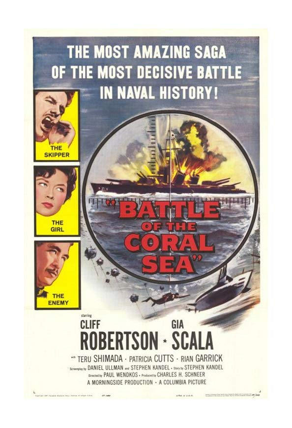 Battle of the Coral Sea kapak
