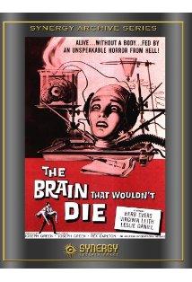 The Brain That Wouldn't Die kapak