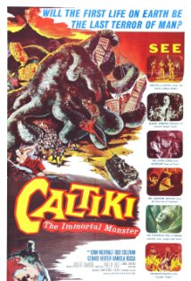 Caltiki, the Immortal Monster kapak