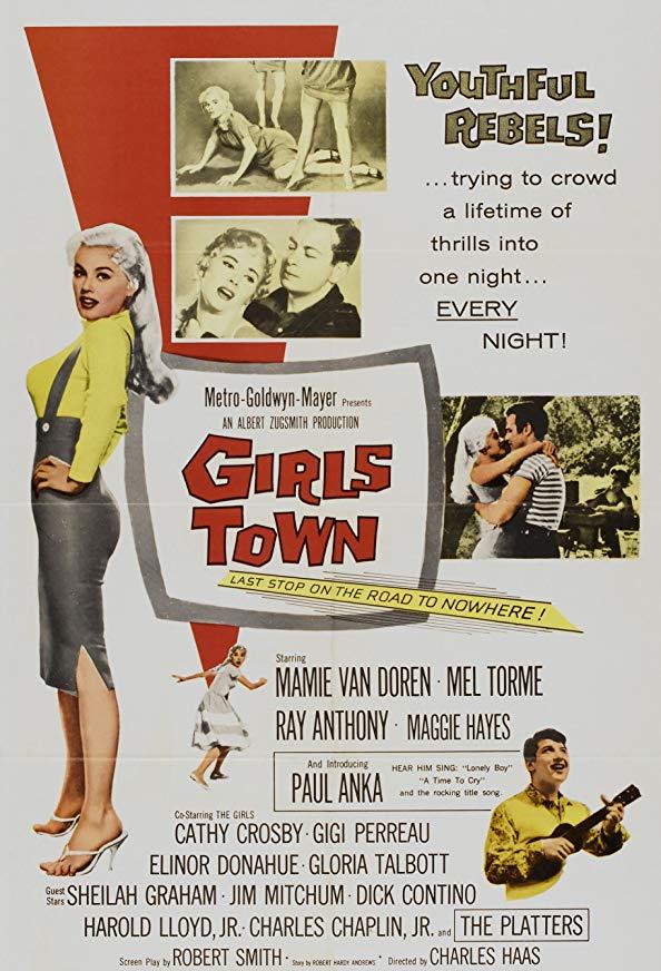 Girls Town kapak