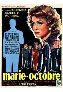 Marie-Octobre kapak