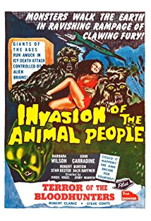 Invasion of the Animal People kapak
