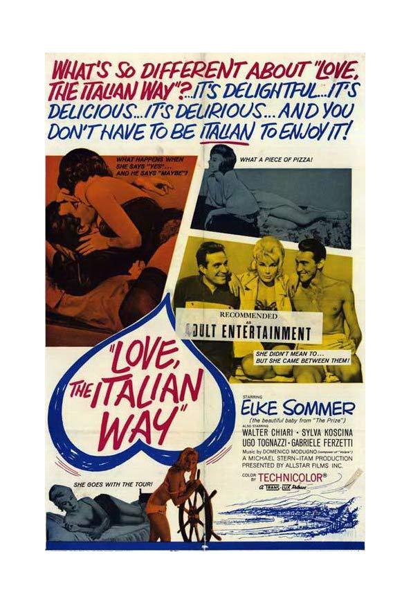 Love, the Italian Way kapak