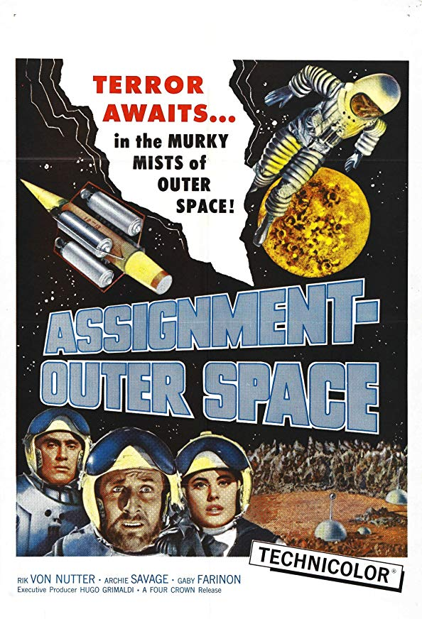 Assignment: Outer Space kapak