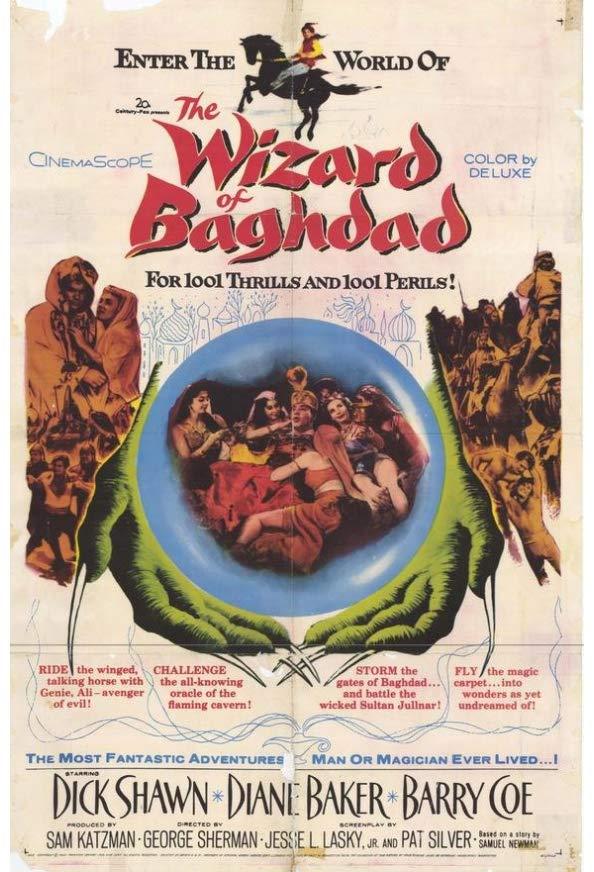 The Wizard of Baghdad kapak