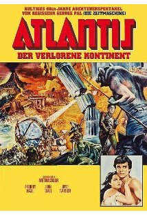 Atlantis: The Lost Continent kapak