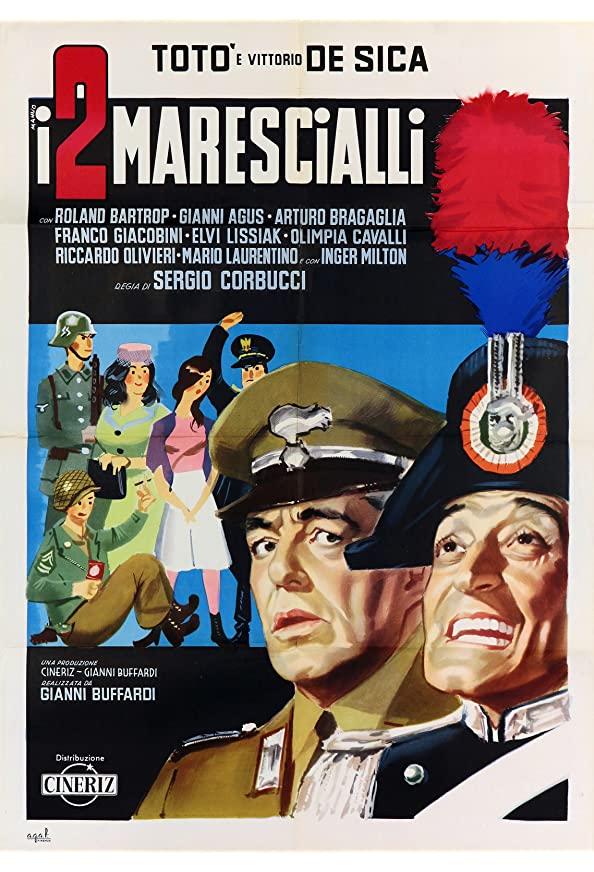 The Two Marshals kapak