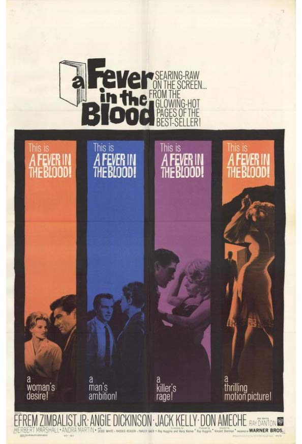 A Fever in the Blood kapak