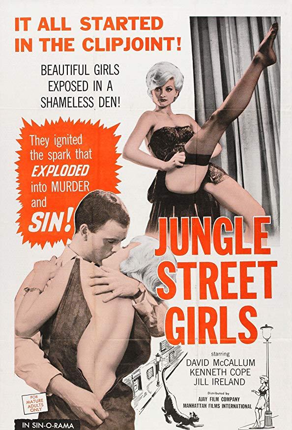 Jungle Street Girls kapak