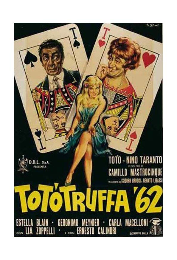 Totòtruffa '62 kapak
