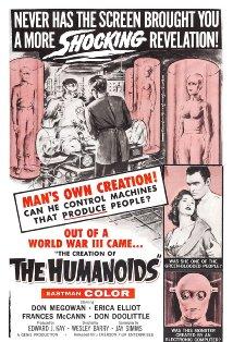 The Creation of the Humanoids kapak