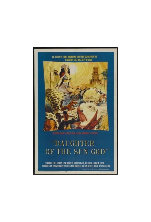 Daughter of the Sun God kapak