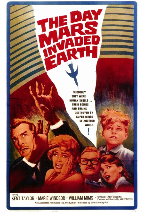 The Day Mars Invaded Earth kapak