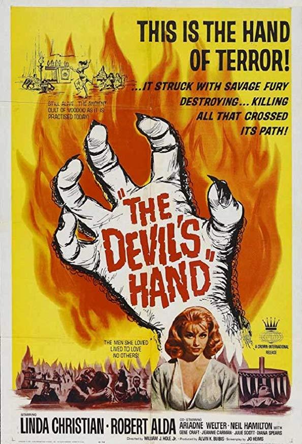 The Devil's Hand kapak