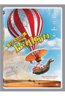 Five Weeks in a Balloon kapak