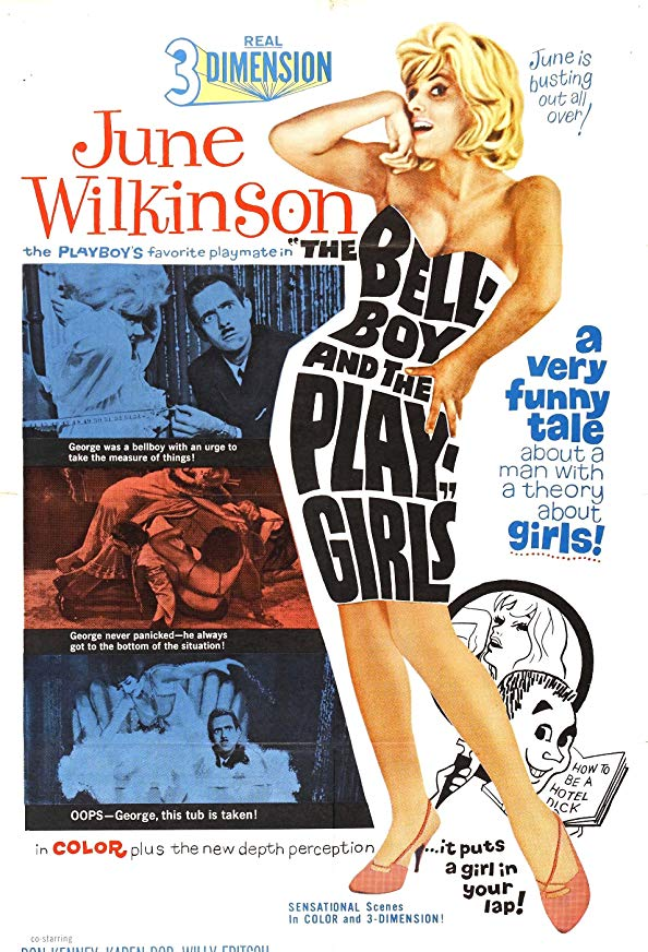 The Bellboy and the Playgirls kapak