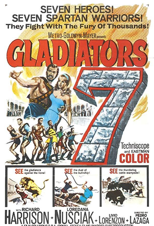 Gladiators 7 kapak