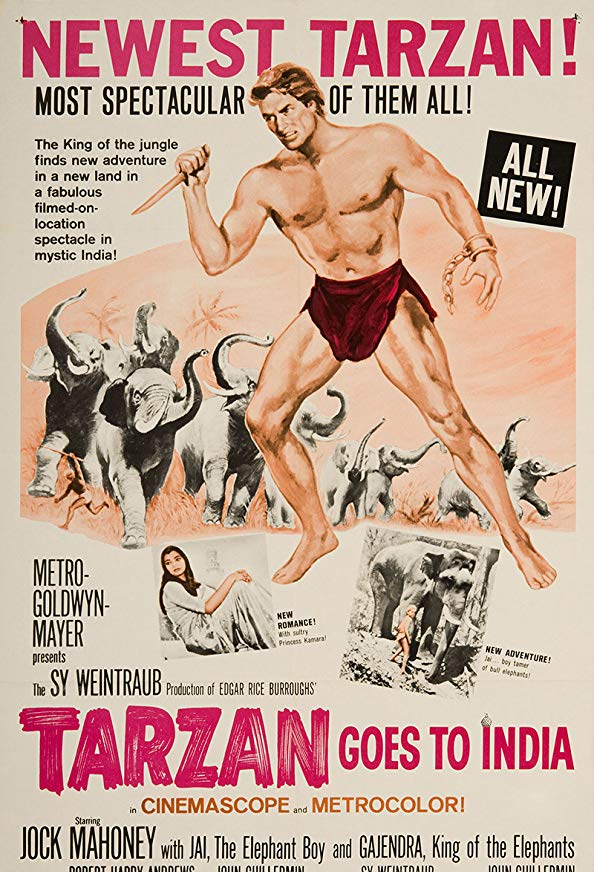 Tarzan Goes to India kapak