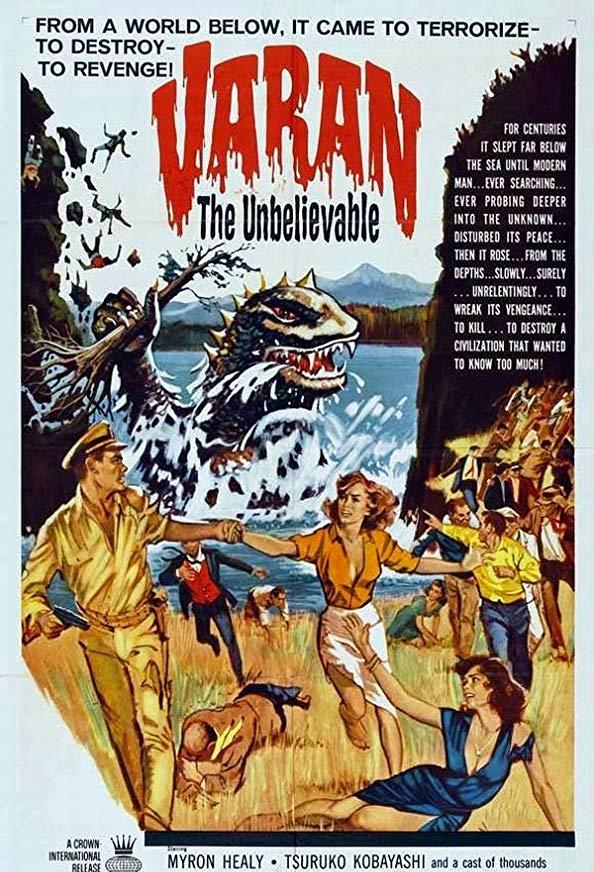 Varan the Unbelievable kapak