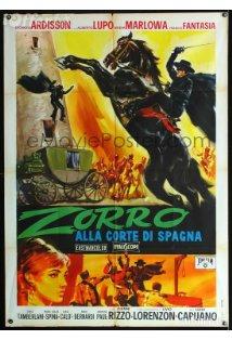 Zorro alla corte di Spagna kapak