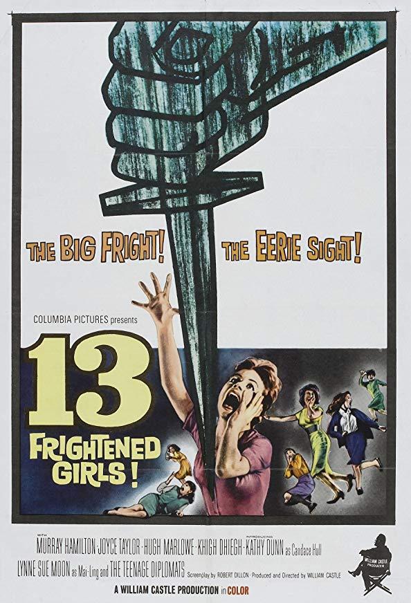 13 Frightened Girls kapak