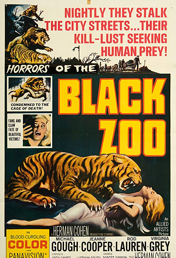 Black Zoo kapak