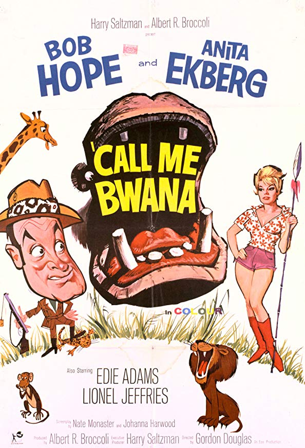 Call Me Bwana kapak