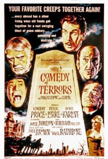 The Comedy of Terrors kapak
