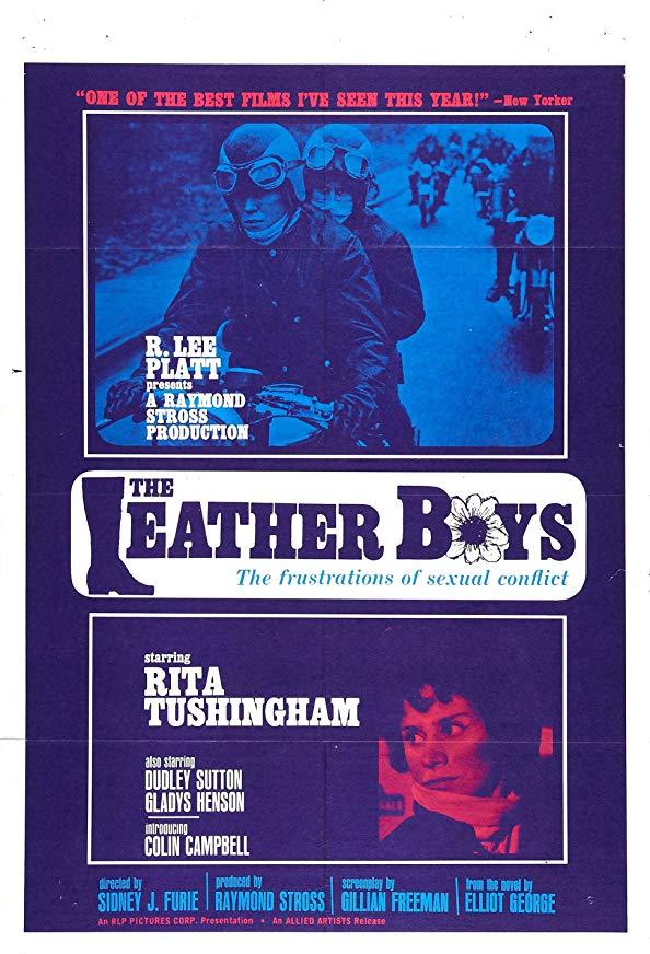 The Leather Boys kapak
