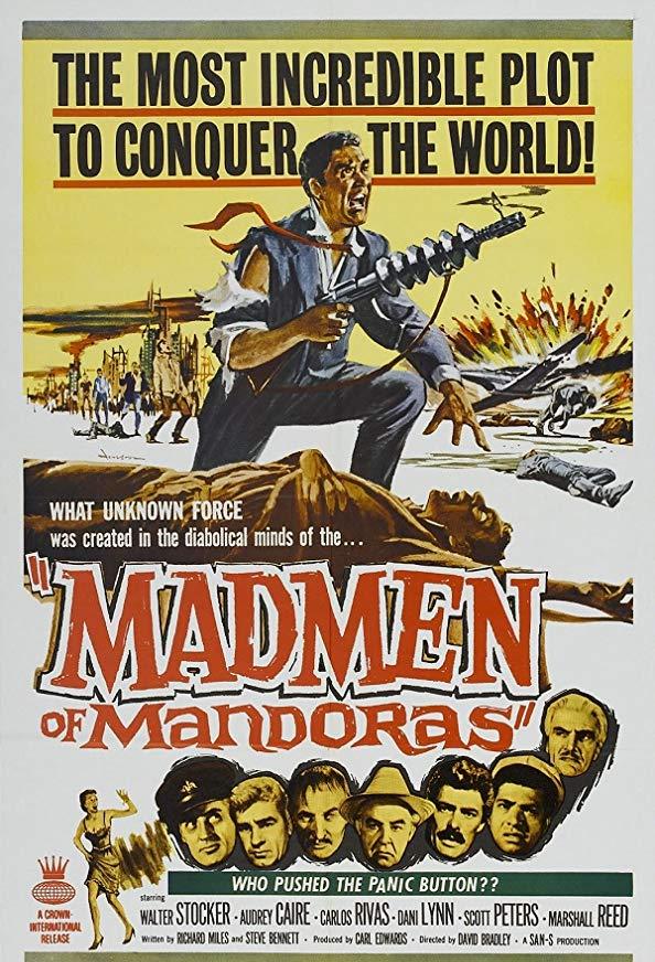 The Madmen of Mandoras kapak