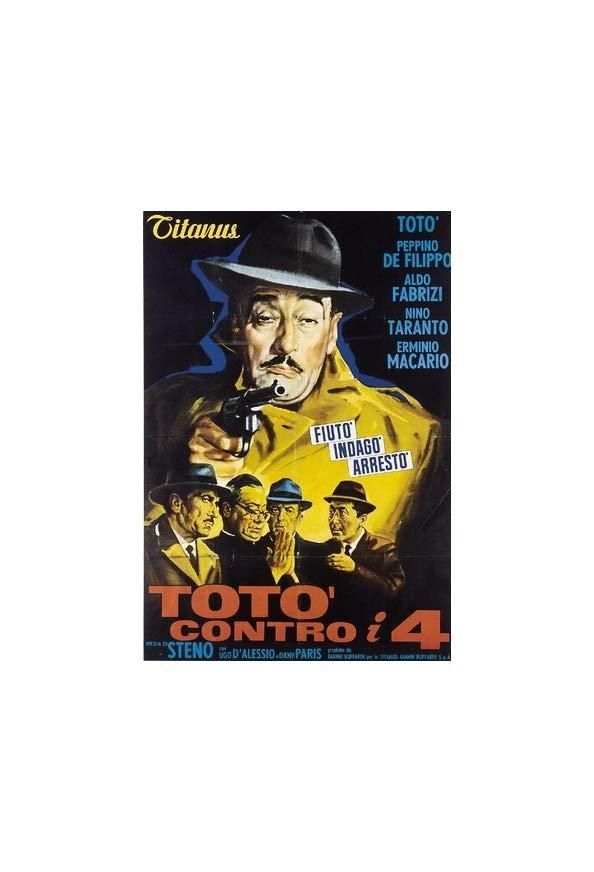 Toto vs the Four kapak