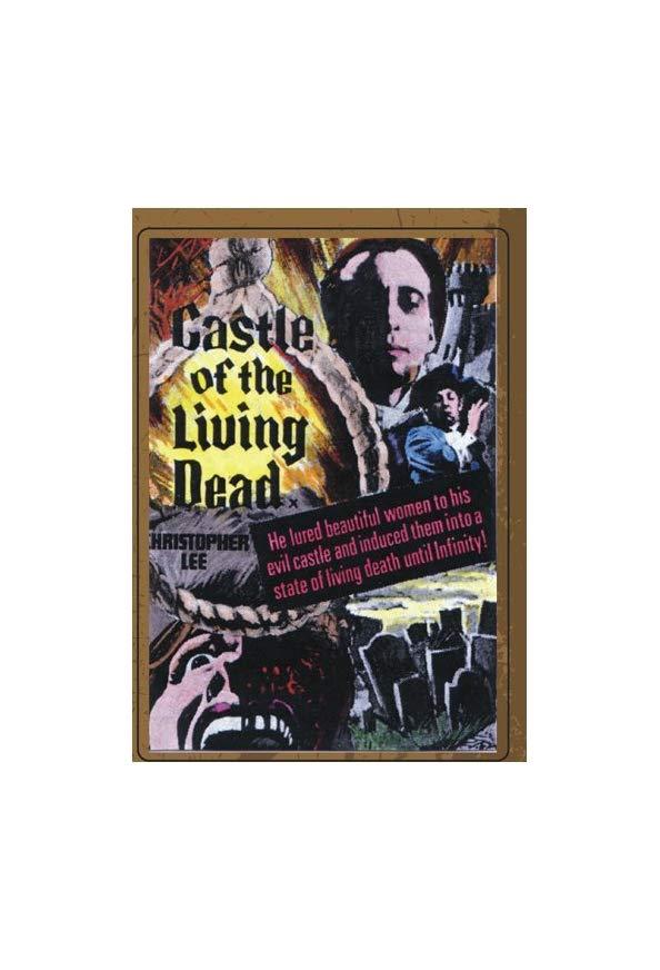 The Castle of the Living Dead kapak
