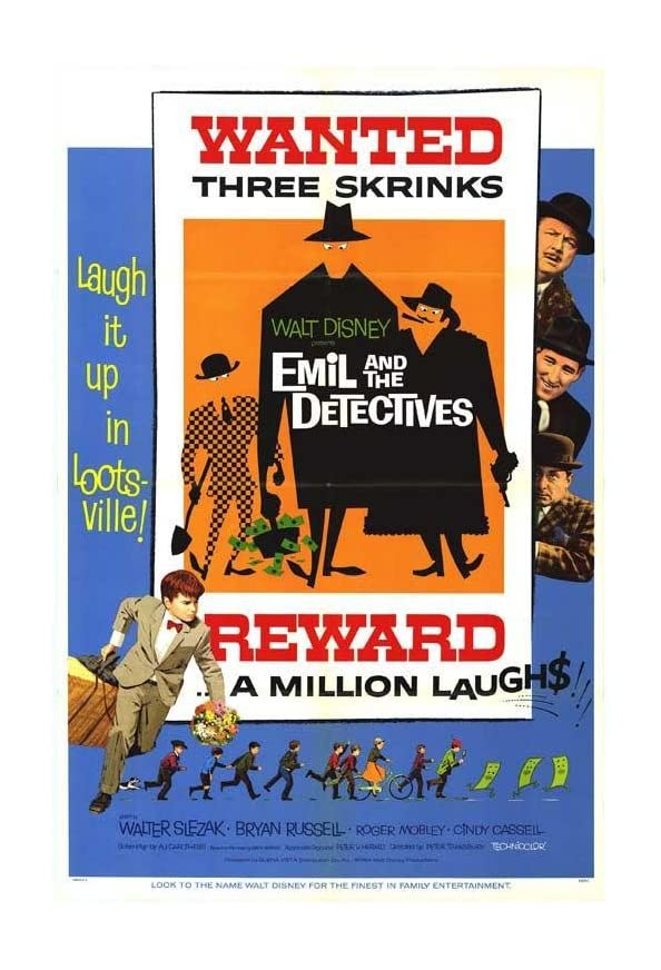 Emil and the Detectives kapak