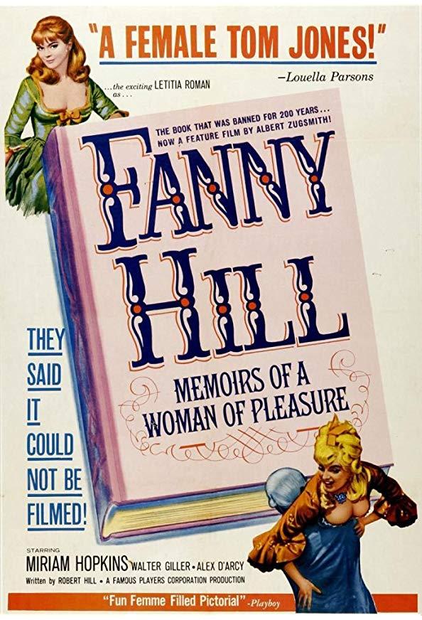 Russ Meyer's Fanny Hill kapak