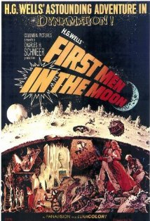 First Men in the Moon kapak