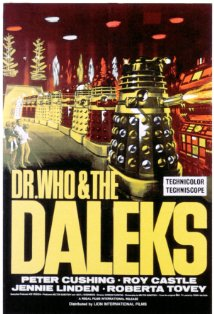 Dr. Who and the Daleks kapak