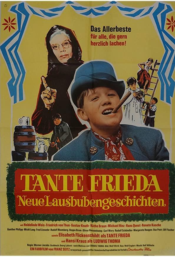 Tante Frieda - Neue Lausbubengeschichten kapak