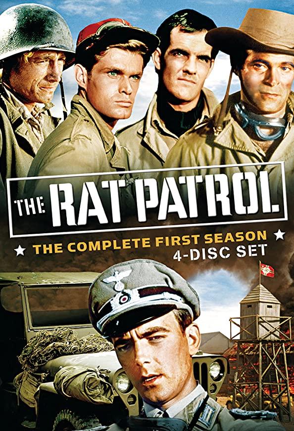 The Rat Patrol kapak
