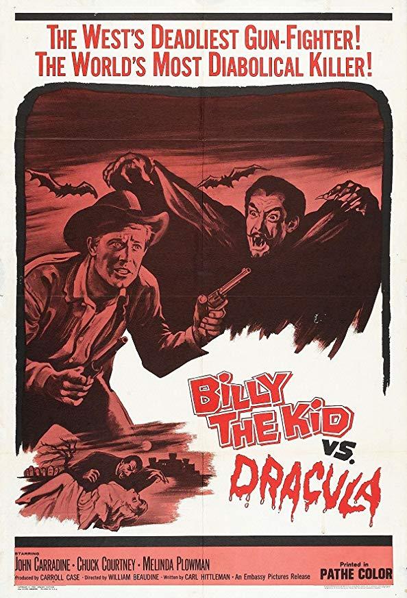 Billy the Kid Versus Dracula kapak