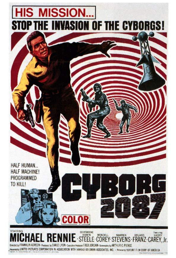 Cyborg 2087 kapak