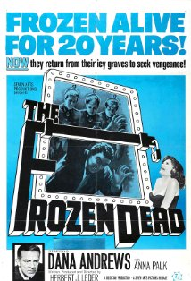 The Frozen Dead kapak