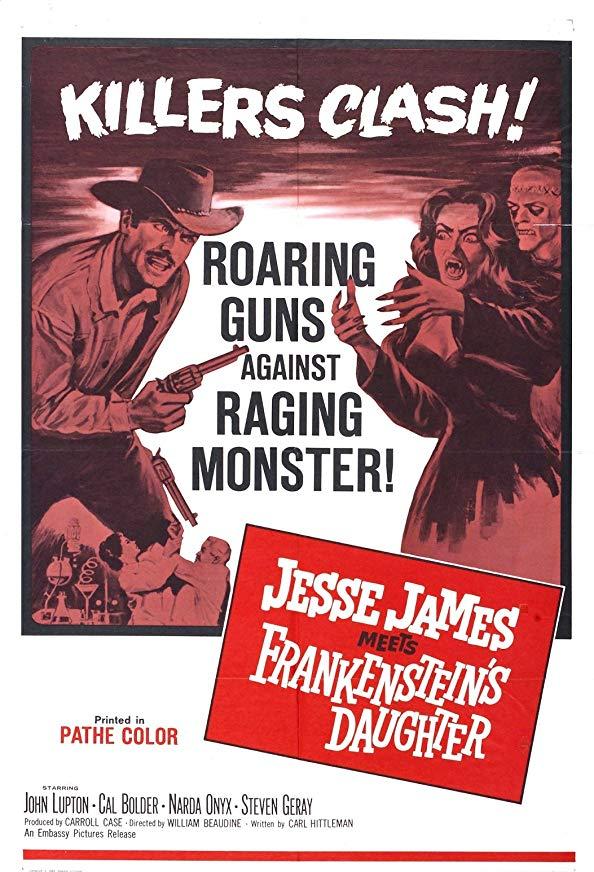 Jesse James Meets Frankenstein's Daughter kapak