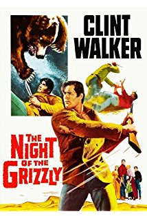 The Night of the Grizzly kapak