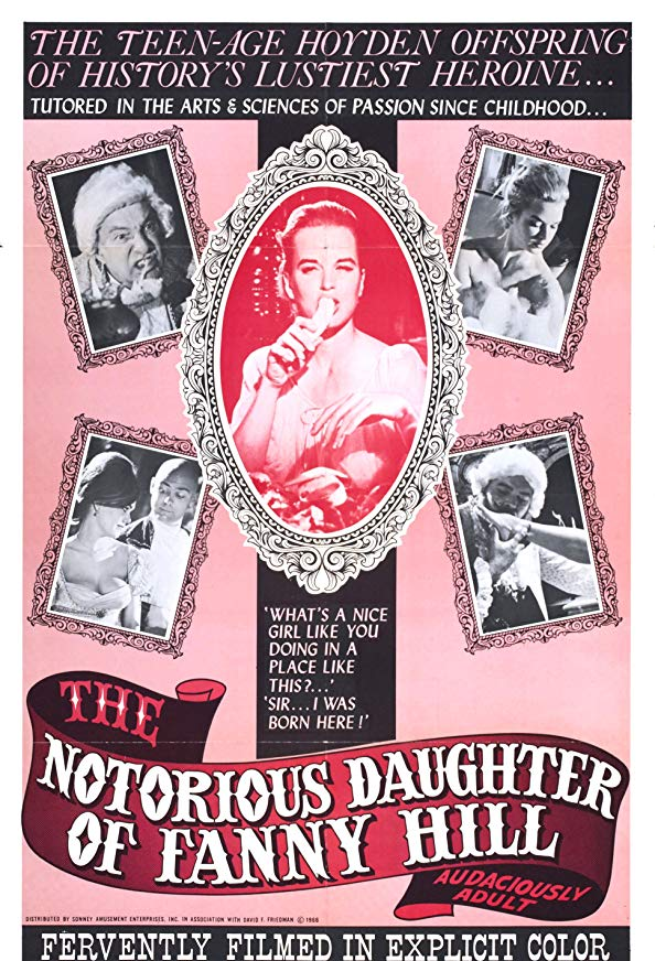 The Notorious Daughter of Fanny Hill kapak