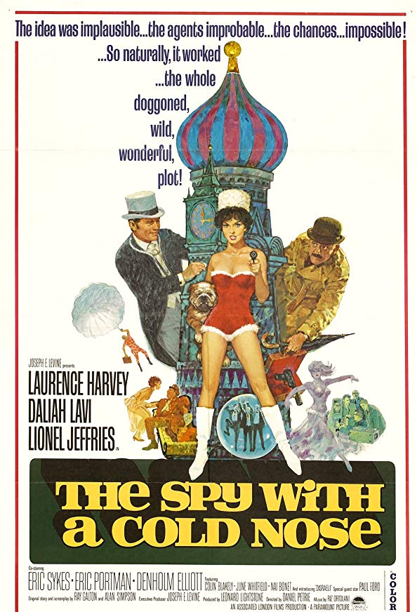 The Spy with a Cold Nose kapak