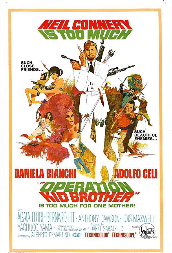 Operation Kid Brother kapak