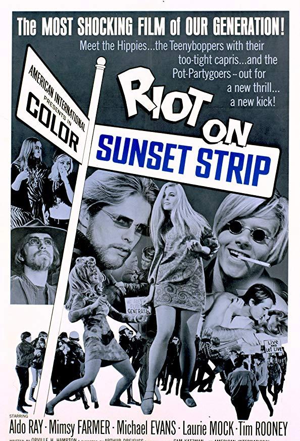 Riot on Sunset Strip kapak