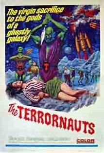 The Terrornauts kapak